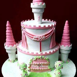 Pretty Pink Princess Castle