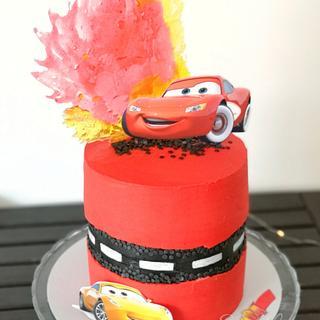 Cars3 Buttercream Cake
