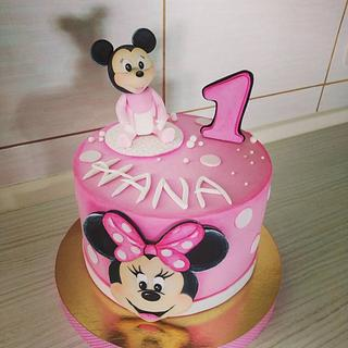 Minnie mouse cake - Cake by Tortalie