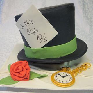 Mad Hatter Hat from Alice in Wonderland