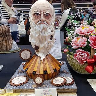 Leonardo Da Vinci  - Cake by Angela Cassano