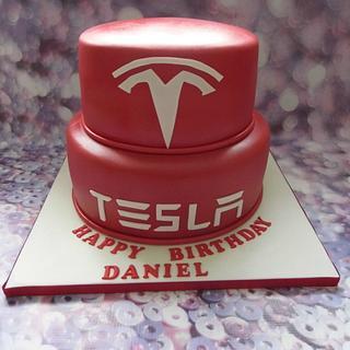 Tesla cake.