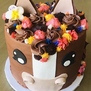 Horse cake - Cake by MerMade