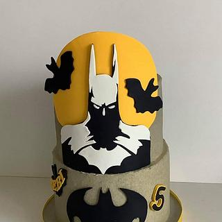 Batman - Cake by Anka