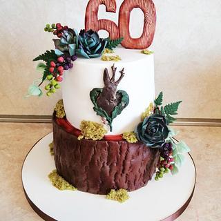 Hunting cake - Cake by Marianna Jozefikova