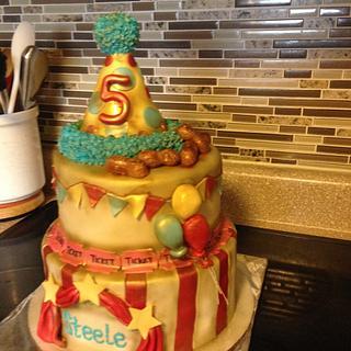 Circus Cake - Cake by Msmaddiecake