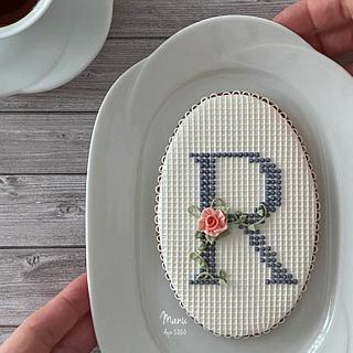 A Rose for Ryoko - Cake by Manu biscotti decorati