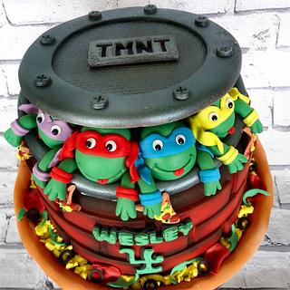 TMNT Birthday Cake - Cake by Storyteller Cakes