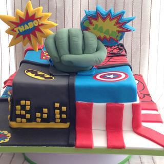 Superhero cake - Cake by Sophie's Bakery