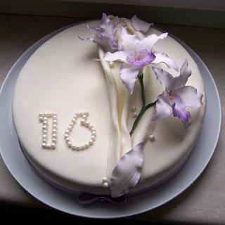 Sweet sixteen - Cake by Laelia