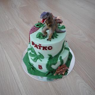 Tyrannosaurus - rex inspiration  - Cake by Janka