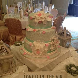 Maggie's wedding cake