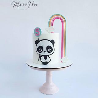 Panda bear - Cake by Maira Liboa