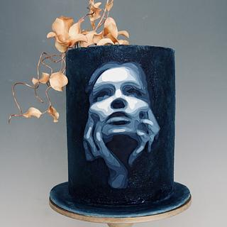 3D Woman - Cake by tomima