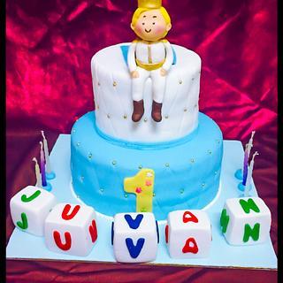 Prince bday cake