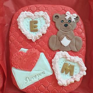 Cookie valentine's day