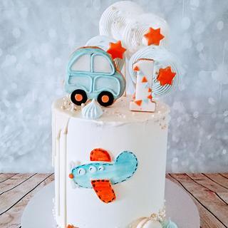 1.yers  - Cake by alenascakes