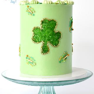 Shamrock Cake - Cake by Teresa Davidson