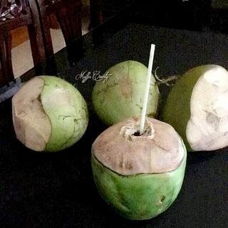 Tender Coconut cake