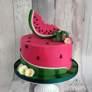 Watermelon :) - Cake by Aurelia's Cake