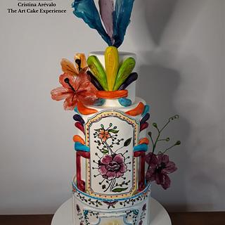 """Coimbra Cake""- The Art of Pottery Cake Collaboration"