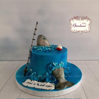 fish - Cake by mona ghobara/Bonboni Cake