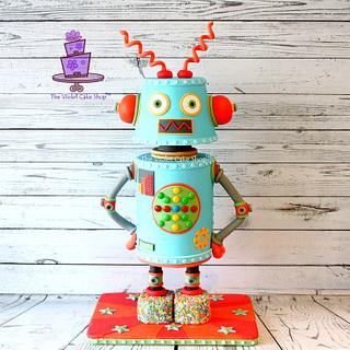 ROBBIE the Robot for Sweet Magazine