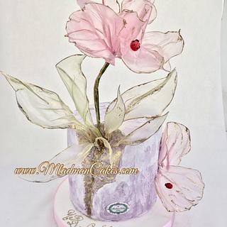 Fantasy rose cake / Торта с фентъзи цвете