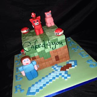 Minecraft - Cake by Clare Caked4you
