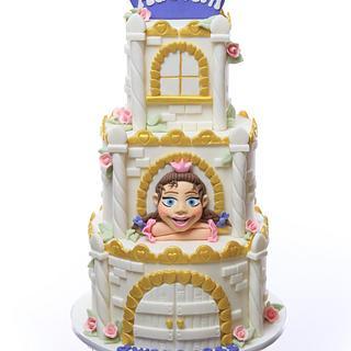 2017 Sugar Art for Autism - Maja cake
