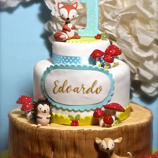 Woodland cake!
