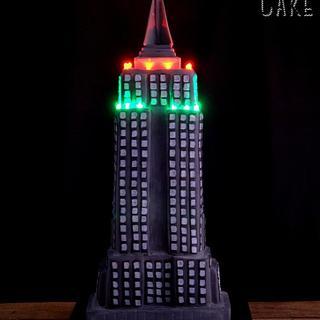 Empire State Building Cake - Mericakes