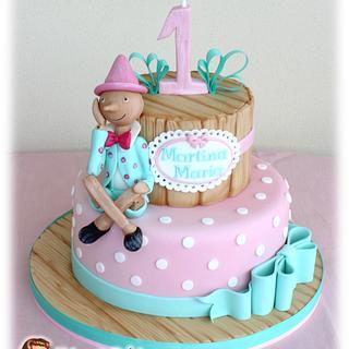 Pinocchio's sweet dreams cake