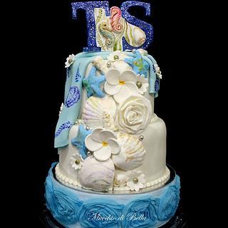 Little Blue Cake - Cake by Mucchio di Bella