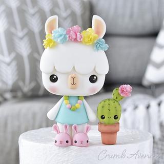 Llama & Cactus