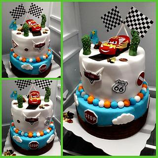 Cars - Cake by Zorica