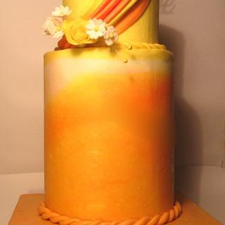 Anniversary 2 tier Cake