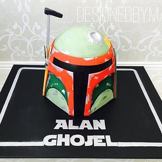 Boba Fett cake - Cake by designed by mani