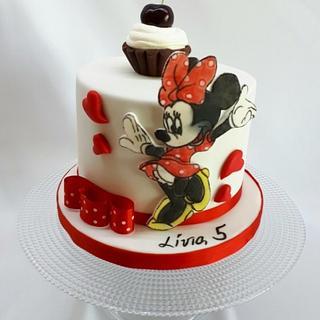 birthday Minnie mouse