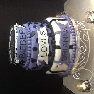 Justin beiber - Cake by Eneida Diaz