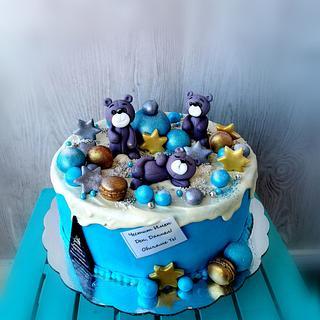 Bear cake - Cake by Tsanko Yurukov
