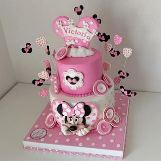 TARTA 1º ANITO MINNIE MOUSE