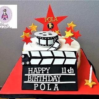 Movie themed cake  - Cake by elenasartofcakes