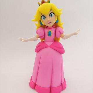 Princess Peach!  - Cake by daniela cabrera