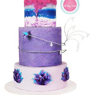 Caker buddies Collaboration-Peace - Cake by Sarika