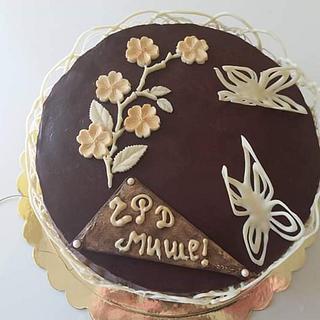 Chocolate cake  - Cake by Nadi Ivanova