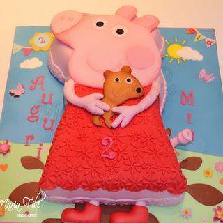 Peppa Pig cake ❤️❤️