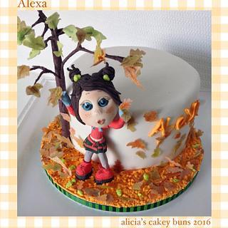 Little Alexa has a birthday  - Cake by Alicia's CB