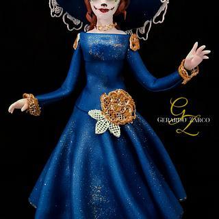 Catrina Parade Piece - Cake by Gerardo Zarco