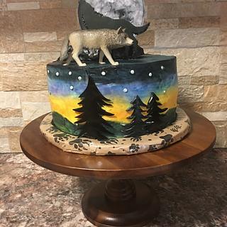 Wolf Cake - Cake by Tareli